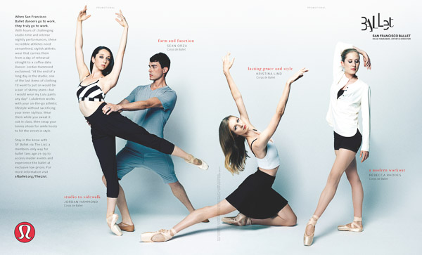 Lululemon + San Francisco Ballet